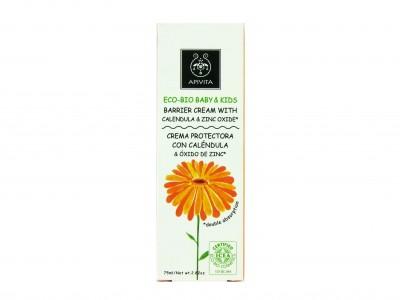 Apivita Eco-Bio Crema Barrera Caléndula y Zinc 75ml