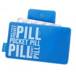 CAJA GUARDA MEDICAMENTOS POCKET PILL AZUL