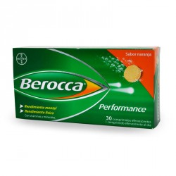 Berocca Performance Naranja 30 Comp. Efervescentes