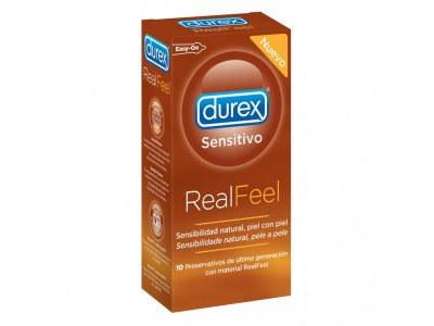 Durex Preservativos Real Feel Sin Látex 10 uds.