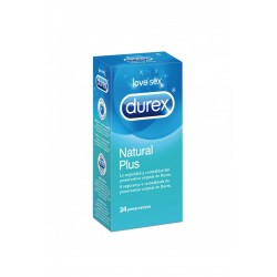 Durex Preservativos Natural Plus 24 uds.