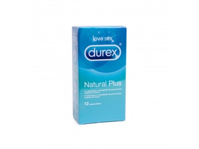 Durex Preservativos Natural Plus 12 uds.