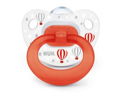 Nuk Chupete Travel T.2 Silicona 1 ud.