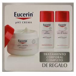 Pack Eucerin Crema Ph5 Piel Sensible 100ml + 2 uds. Loción Gra
