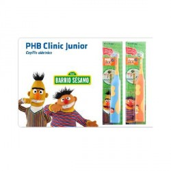 PHB Cepillo Dental Pilas Junior Barrio Sesamo