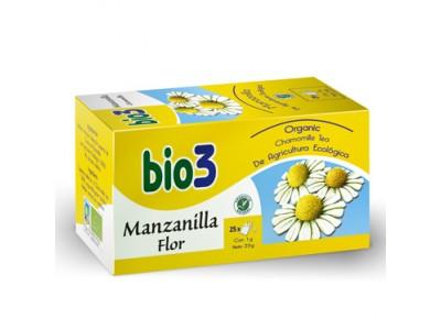 Bio 3 Manzanilla Flor 25 Bolsitas Infusión