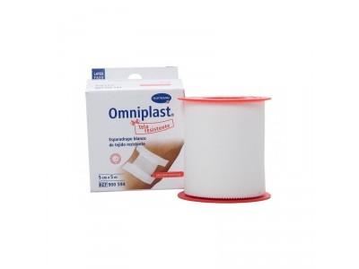 Omniplast OTC Esparadrapo Blanco Resistente 5x5cm