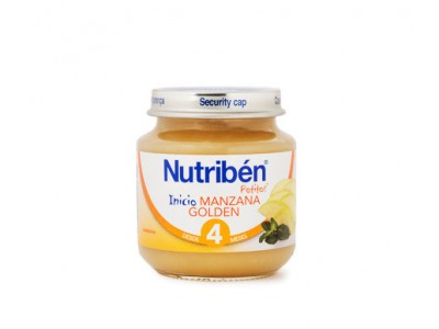 Nutriben Potito Iniciacion Manzana Golden 130g