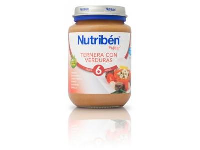 Nutriben Potito Ternera Verduras 200g