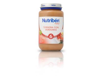 Nutriben Potito Ternera con Verduras 250g