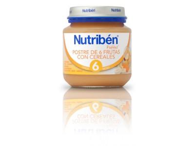 Nutriben Inic. Postre 6 Frutas con Cereales 130g