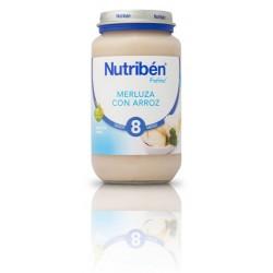 Nutriben Potito Merluza con Arroz 250g