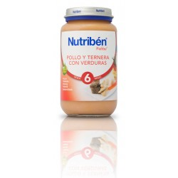 Nutriben Potito Pollo Ternera Verduras 250g