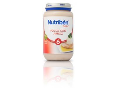 Nutriben Potito Pollo con Arroz 250g