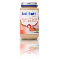 Nutriben Potito Jamon Ternera Verduras 250g