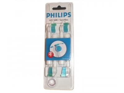 Recambio-Cepillo Philips 4 Cabezales Sensiflex