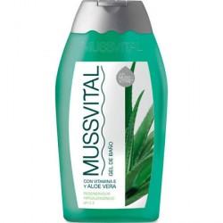 Mussvital Gel de Baño Aloe Vera 300ml