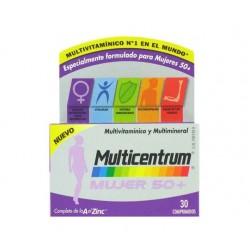 Multicentrum Mujer 50 + 30 Comprimidos