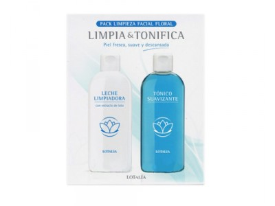 Lotalia Liposomial Pack Leche Limpiador 200ml + Tónico 200ml