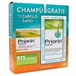 PRIORIN 60 CÁPSULAS + CHAMPÚ 200ML GRATIS