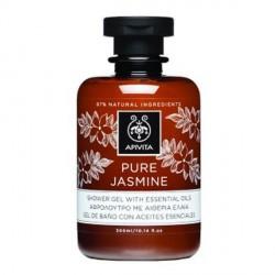 Apivita Pure Jasmine Gel Baño Aceites Esenciales 300ml
