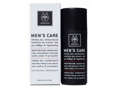 Apivita Men's Care Crema Gel Hidratante 50ml