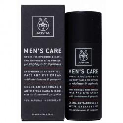 Apivita Men's Care Crema Antiarrugas - Antifatiga 50ml