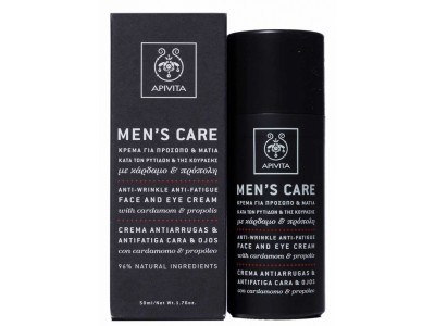 Apivita Men's Care Crema Antiarrugas - Antifatiga 50ml