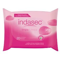 Indasec Toallitas Higiene Íntima Sobre 20 uds.