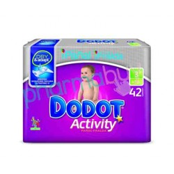 Pack Pañales Dodot Activity Talla 3 168 uds.