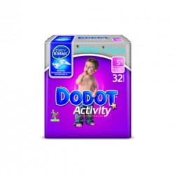 Pack Pañales Dodot Activity Talla 5 96 uds.