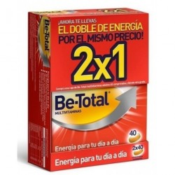 Be-Total Multivitaminas 40 Comprimidos 2 uds.