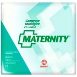 Indas Compresas Celulosa Maternity 25 uds.