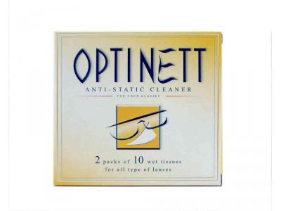 Optinett Toallitas Limpiagafas 20 uds.