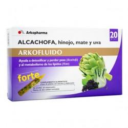Arko Alcachofa Hinojo Mate Uva 20 Ampollas