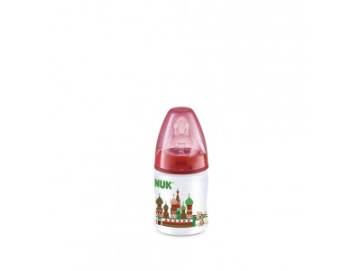 Nuk Biberón FC Travel T.1m Silicona 150ml