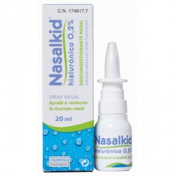 Nasalkid Spray Nasal Hialurónico 0.2 % 20ml