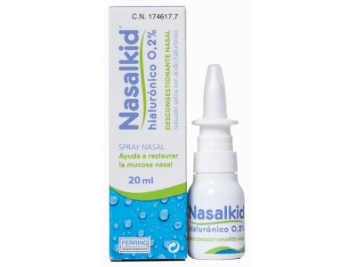 Nasalkid Spray Nasal Hialurónico 0.2 % 20ml