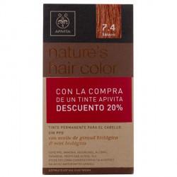 Apivita Nature's Hair Color Tinte 7.4