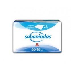 Sabanindas Protegecamas 60x40 25 uds.