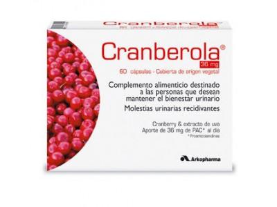 Arkopharma Cranberola 60 Cápsulas