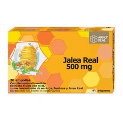 Arko Real Jalea Real 500mg 20 Ampollas