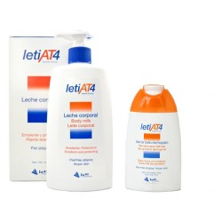Leti At4 Pack Leche Corporal 500ml + Gel Baño 200ml