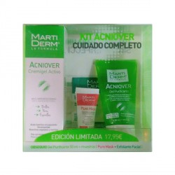 Martiderm Kit Acniover Cremigel 40ml + Gel Purificante 50ml+ Muestras
