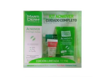 Martiderm Kit Acniover Cremigel 40ml + Gel Purificante 50ml+ Muestras