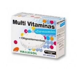Vallesol Multivitaminas + Oligoelementos 24 Comprimidos
