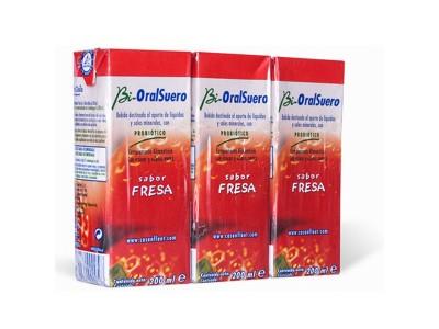 Bi-Oralsuero Fresa Pack 3x200ml