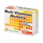VALLESOL MULTI VITAMINAS MEMORIA 40 CÁPSULAS