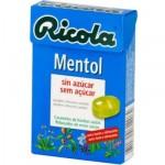 RICOLA CARAMELOS MENTOL 50 GRAMOS SIN AZUCAR