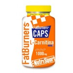 NUTRISPORT FAT BURNERS 105 CAPSULAS